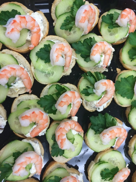 Les hors d oeuvres essentially josh for Canape hors d oeuvres