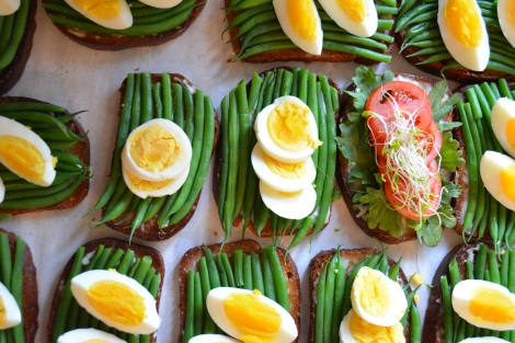Haricots Verts and Egg