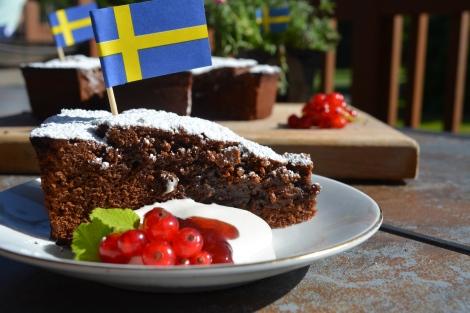 Swedish Kladdkaka