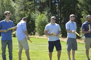 The Men's Team for Kubb.